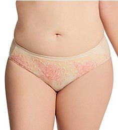 Elila Swiss Embroidery Microfiber Panty 3918