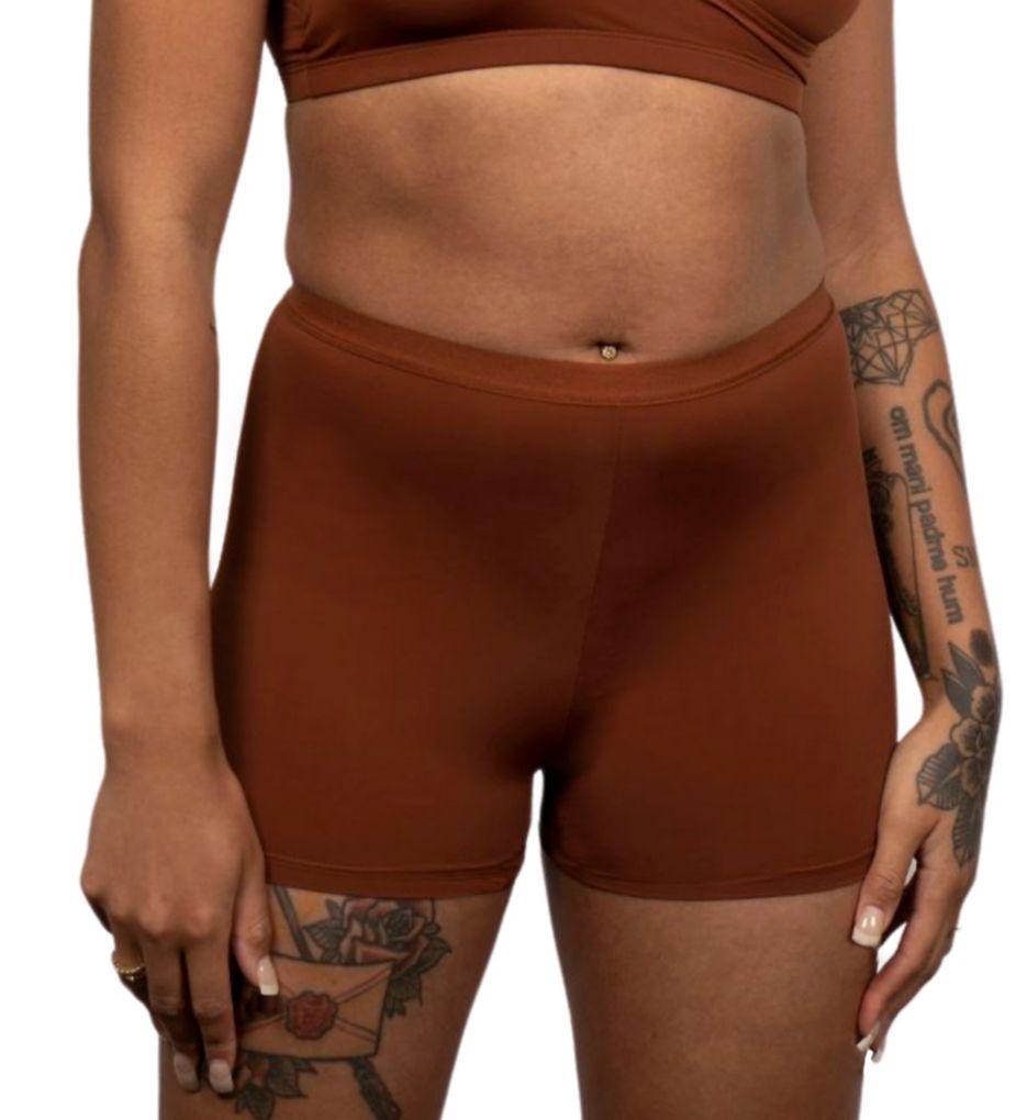 Elita Silk Magic Boy Leg Brief Panties 8862