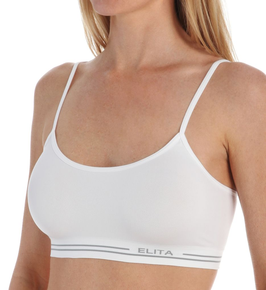 Elita Signature Seamless Mini Crop Top Bra S857