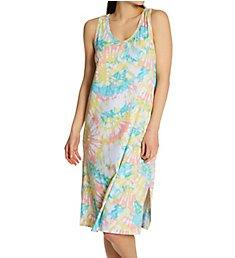 Ellen Tracy Tye Dye Midi Lounge Dress 8223010