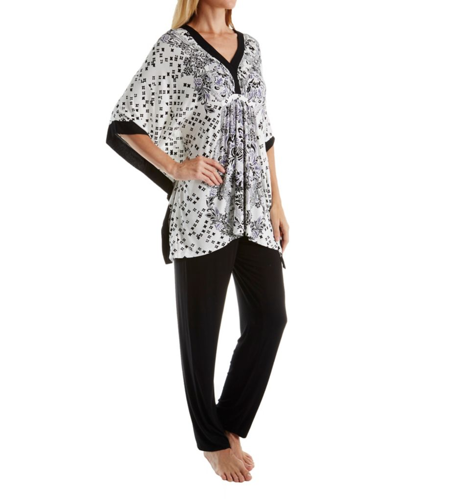 Ellen Tracy Holiday Bliss Caftan PJ Set 8818461