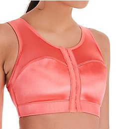 Enell Fashion Color High Impact Front Close Sports Bra 100F