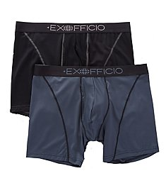 Ex Officio Give-N-Go Mesh 6 Inch Boxer Briefs - 2 Pack 2413334