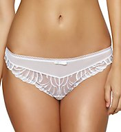 Felina Lana Embroidered Thong 530040