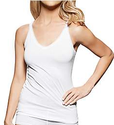fine lines Pure Cotton Thin Strap V-Neck Camisole 13RCA34
