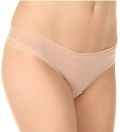 fine lines Pure Cotton Thong Panty 13RGS34