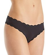 Free People Cotton Lace Trim Tanga Panty 617641