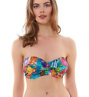 Freya Under the Sea Twist Front Bandeau Swim Top AS3929