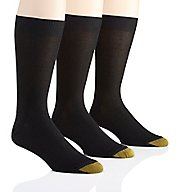 Gold Toe Metropolitan Cotton Crew Dress Socks - 3 Pack 345S