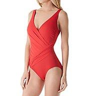 Gottex Landscape Surplice One Piece Swimsuit 17LC178