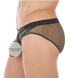 Gregg Homme Erupt Enhancing Ring Mesh Brief 140003