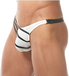 Gregg Homme Grip Jersey G-String with Detachable Buckle 150204