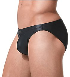 Gregg Homme Crave Faux Leather Brief 152603