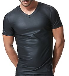 Gregg Homme Crave Faux Leather T-Shirt 152607