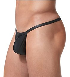Gregg Homme Crave Faux Leather G-String 152614