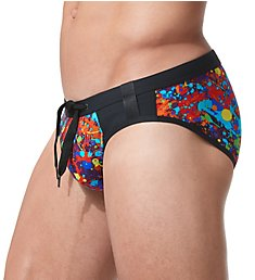 Gregg Homme Splatter Swim Brief 153203
