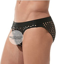 Gregg Homme Arouse Snakeskin Jersey Brief 160103