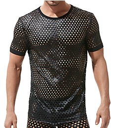 Gregg Homme Arouse Snakeskin Jersey Short Sleeve T-Shirt 160107