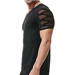 Gregg Homme High-Line Laser Cut Embroidered T-Shirt 160207