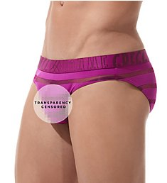 Gregg Homme Encore Plus See Through Stripe Brief 160603