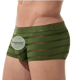 Gregg Homme Encore Plus See Through Stripe Trunk 160605