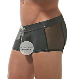 Gregg Homme Black X Boxer Brief 162605