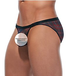 Gregg Homme Gaelic Sheer Brief With Detachable Snaps 172003