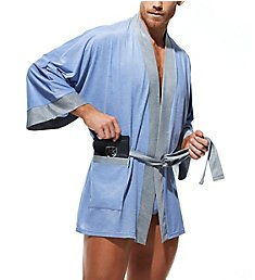 Gregg Homme Breeze Micromodal Stretch Robe & G-String Set 180901