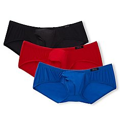 46572a1796 Gregg Homme Torridz Hyperstretch Low Rise Trunks - 3 Pack 87405PK
