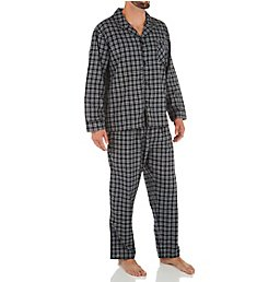 Hanes Classics Broadcloth Woven Pajama Set 4016