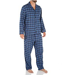 Hanes Plaid Flannel Pajama Set 4039