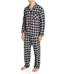 Hanes Plaid Flannel Pajama Set 4039