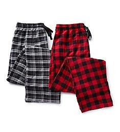 Hanes Plaid Flannel Pajama Pants - 2 Pack 4086
