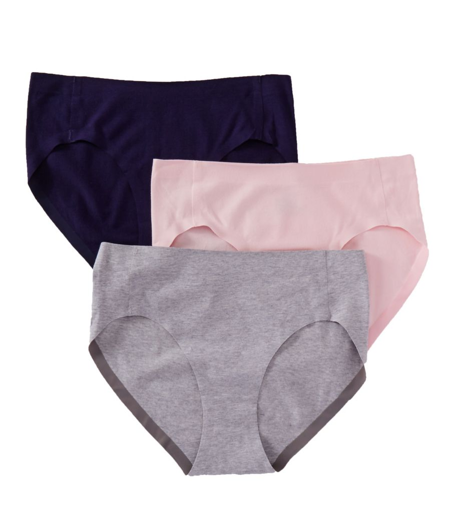 Hanes Ultimate SmoothTec Hi-Cut Brief Panty - 3 Pack 43ST