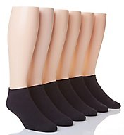 Hanes Classic Cushion No Show Socks - 6 Pack CL90