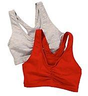 Hanes Cotton Pullover Bra - 2 Pack H570