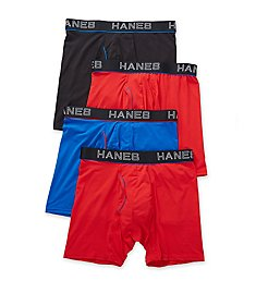 Hanes Ultimate ComfortFlex Fit Boxer Briefs - 4 Pack UWBBB4