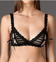 Hanky Panky After Midnight Shadow Stripe Peek-A-Boo Bralette 1H7834