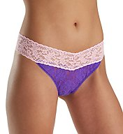 Hanky Panky Colorplay Original Rise Thong 36116P