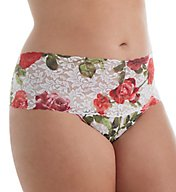 Hanky Panky Plus Size Retro Pattern Thong 3J1926X
