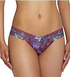 Hanky Panky Low Rise Pattern Thongs 4911PTN
