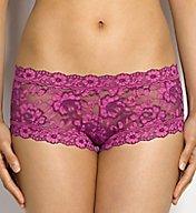 Hanky Panky Cross Dyed Signature Lace Boyshort Panty 591204