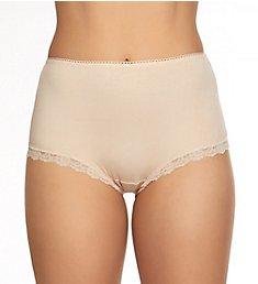 Hanky Panky Organic Cotton Shirred-Back Betty Brief Panty 892221