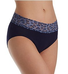 Hanky Panky Organic Cotton French Brief with Contrast Trim 892441