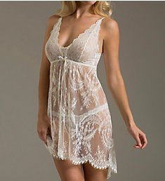 Hanky Panky Victoria Lace Chemise with G String 945901