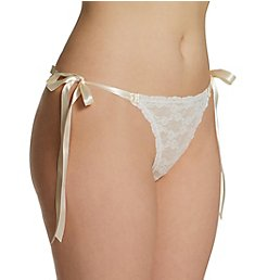 Hanky Panky After Midnight Peek-A-Boo Side Tie Bikini Panty 9C2806