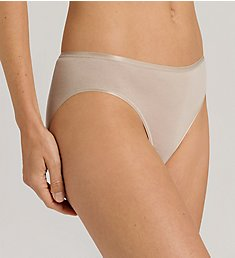 Hanro Cotton Seamless Hi-Cut Full Brief Panty 1626