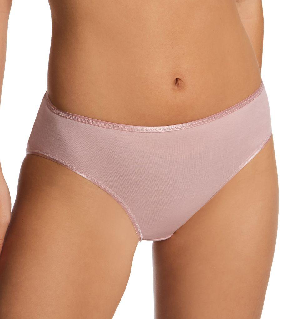 Hanro Cotton Seamless Hi-Cut Full Brief Panty 1626