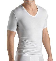 Hanro Cotton Sensation V-Neck T-Shirt 3068
