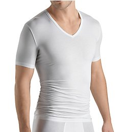 Hanro Cotton Sensation V-Neck T-Shirt 3068